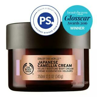 Review The Body Shop Spa of the World Japanese Camellia Cream