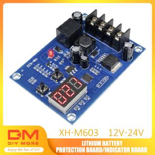 Review DIYMORE | Charge Control Module 12-24V Storage Lithium Battery Protection Board XH-M603