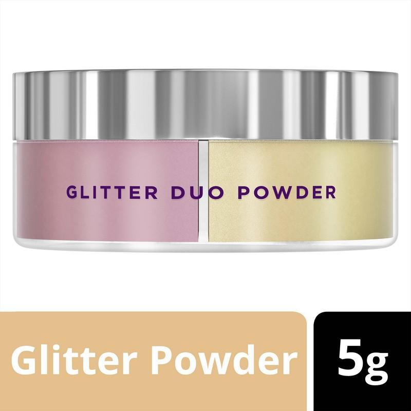 Pond's GlitterGlow Glitter Duo Powder 5G.พอนด์ส กลิตเตอร์โกลว์ กลิตเตอร์ดูโอ้พาวเดอร์ 5 กรัม UNILEV