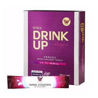 Review WIWA Drink Up Collagen 10 ซอง [Exp 08/2019]