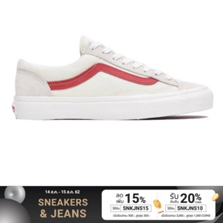 VANS STYLE 36 MARSHMALLOW RACING RED SNEAKERS สินค้ามีประก
