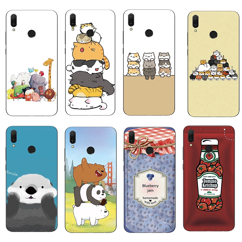 Image # 0 of Review เคส Cute Cat TPU Soft Case Asus ZenFone Max Pro M1 ZB601KL/ZB602KL/ZB570TL/ZB501KL