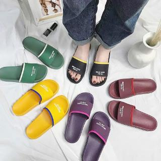 Buy one get one slippers female summer ins net celebrity home non-slip male
