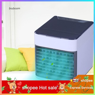 Review AZX_Portable Air Conditioning Fan Mini USB Charge Cooler Humidifier LED Night Light