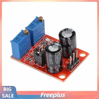 free~NE555 Pulse Frequency Duty Cycle Adjustable Module Square Wave Signal Board