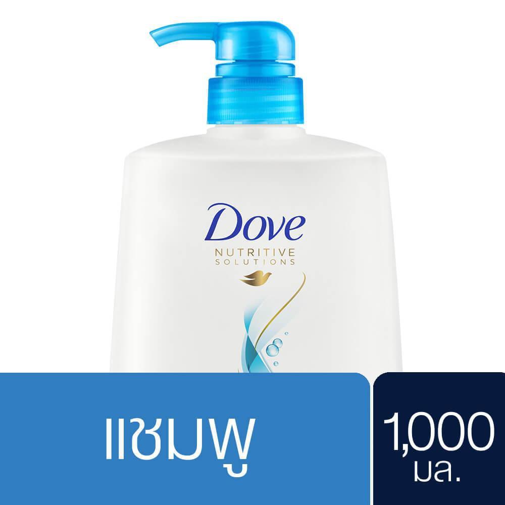 Dove Shampoo Volume Norishment (Light Blue) 1000 ml. UNILEVER