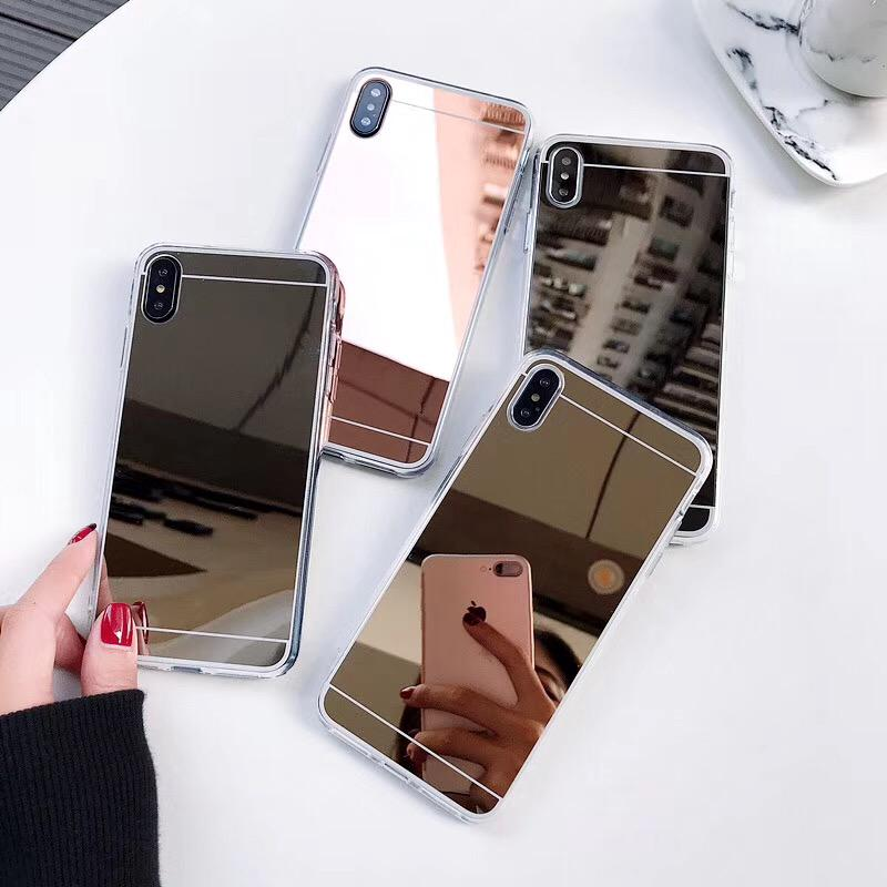 Review Vivo V15 S1 Pro V11 Pro V11I Y93 Y95 Y91 Y17 Y15 Y12 Y83 Y81 V9 Y85 V5 V7 PLUS X21 Case Mirror Case TPU Cover Back Cover