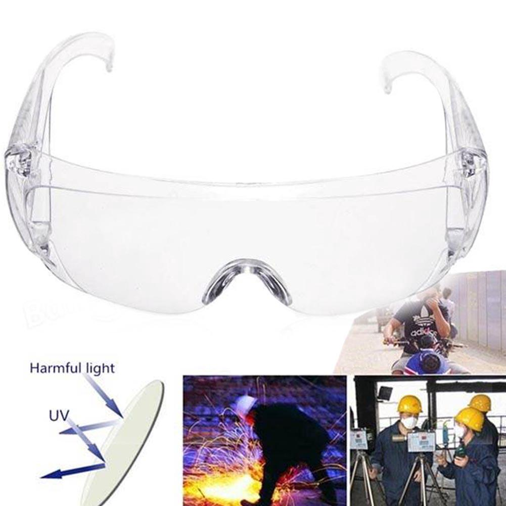 Review Anti-Harmful rays Anti-Reflective Windproof Safety Cycling Driving Glasses Lab Sunglasses Dust Protective Eye Goggles