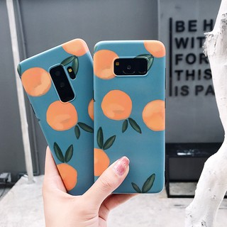 Review Samsung Galaxy S8+ S9+ S8 S9 S10 S10+ S10e note 8 note 9 Creative Orange soft phone case