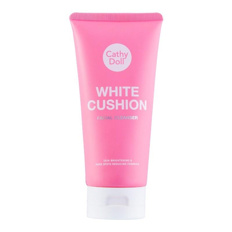 Cathy Doll ไวท์คูชั่นเฟเชียลโฟมคลีนเซอร์ 120ml เคที่ดอลล์ White Cushion Facial Foam Cleanser 120ml