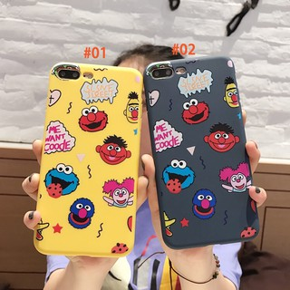 Funny Smile Cartoon Case iPhone 6 6Plus 6s 6sPlus 7 7Plus 8 8Plus X Cover Casing