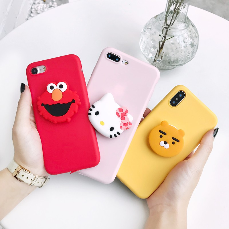 Image # 0 of Review Xiaomi Mi Max 2 3 Mi A1 A2 A3 Lite Mi 6 8 9 SE 9T Pro Lite Mi9 Note 3 Play CC9 CC9E Phone Case Soft Cartoon Stand Cover