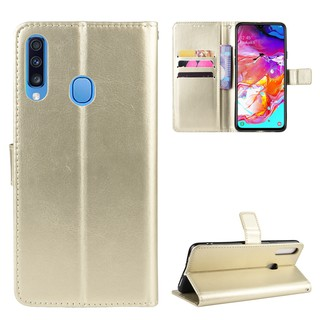 Review For Samsung Galaxy A10S/A20S/A30S/A50S/A70S Case Wallet Style Glossy Skin PU Leather Flip Cover