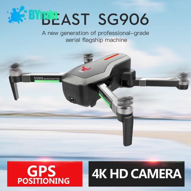 Review Zlrc Beast SG 906 GPS 5 G WIFI FPV พร้อม 4 K Ultra-ZZ