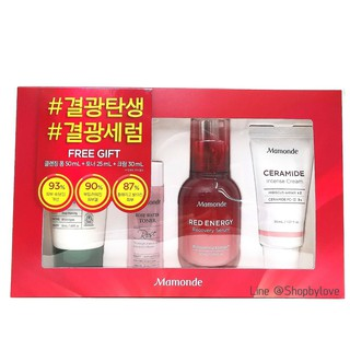 The best Mamonde Red Energy Recovery Serum Special Set 4 Items