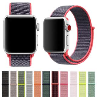 Review ลดพิเศษ สาย Apple Watch Nylon Sport Band for Apple Watch Series 1,2,3,4