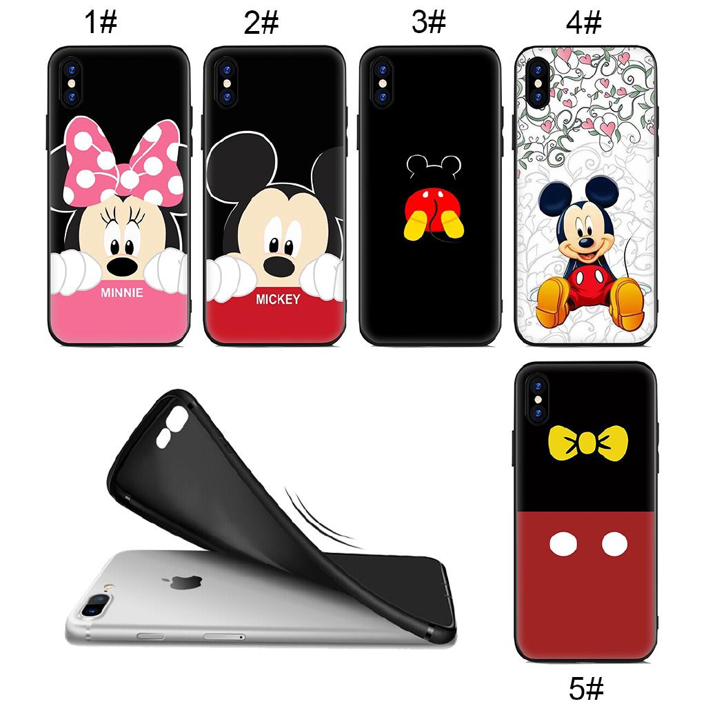Review Soft Case IPhone XS Max XR 8 7 Plus 6 6S 5S SE Mickey Minnie Mouse Cute
