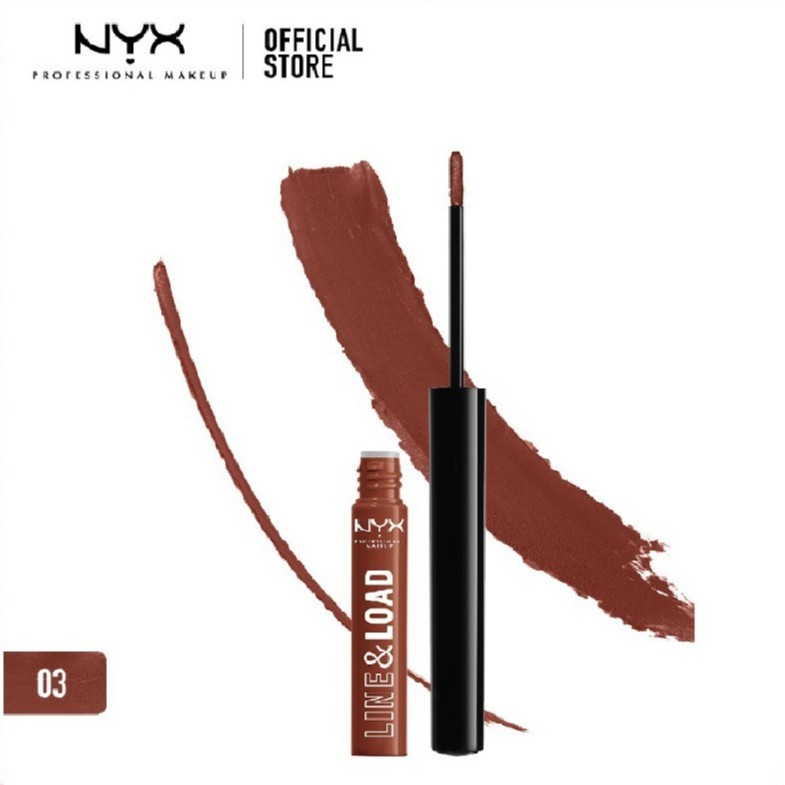 นิกซ์ โปรเฟสชั่นแนล เมคอัพ ไลน์ แอนด์ โหลด ทูอินวัน ลิปปี้ - Nyx Professional Makeup LLL (ลิปสติก, ล