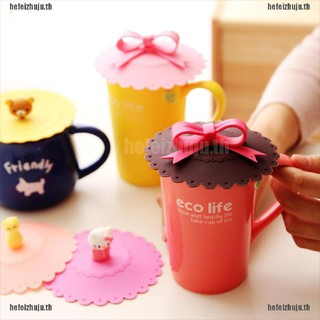 Review [Hefei] Bowknot Bow Silicon Anti-dust Mug Cap Cup Glass Lid Leakproof Cover Multicolor [TH]