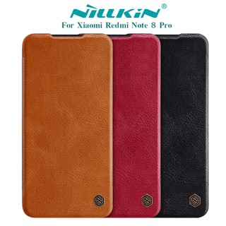 Review NILLKIN เคส Xiaomi Redmi Note 8 Pro รุ่น Qin Leather Case