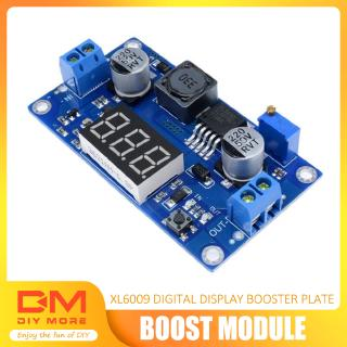 Review DIYMORE | DC-DC 4.5-32V to 5V-55V XL6009 Boost Step-up Module Adjustable LED Voltmeterโมดูล