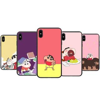 Review 036 Carton Crayon Shinchan iPhone XS Max XR X 8 7 6 6S Plus 5 5S SE soft case
