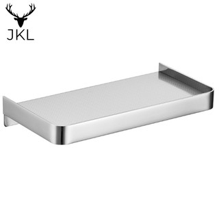 Review Stainless Steel Wall Mounted Soap Rack Multi-Functional Storage Shelf NNT