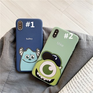 Huawei Y9 2019 Y7 Pro 2018 Prime Y6 Mate 9 Pro 10 Honor Play V10 V9 v20 6x 7x 8x casing cute eye mike TPU