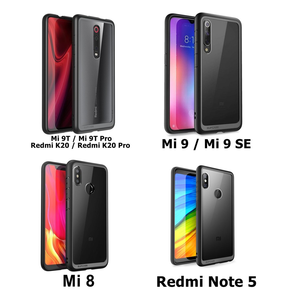 Image # 2 of Review (ของแท้) เคส Xiaomi Mi 9T / 9 / 9 SE / 8 / Redmi K20 Pro / Note 5 SUPCASE Unicorn Beetle Style Clear Case