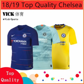 Review เชลซี เสื้อฟุตบอล Chelsea Home Away 3rd Football Jersey home and away 2018/2019 (เพิ่มชื่อ)