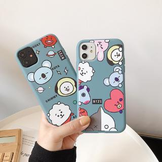 Review BT21 Soft Case Vivo V15 S1 Y17 Y15 Y12 Y91C V9 V5 V5s Y81 Y71 Y95 Y93 Y91 Y65 V7 Plus BT21