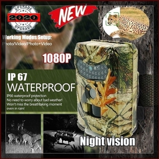 High Quality Outdoor HD Field Camera Ultra Long Standby 1080P Motion Triggered Hunting Field Camera Trap IP67 Waterproof Night  Tracking Camera