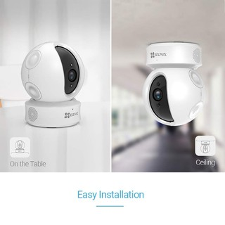 Image # 1 of Review Ezviz (1080p) กล้องวงจรปิด รุ่น C6CN Mini 360 Wi-Fi PT Camera w/Lan Pan-Tilt IP Security Camera 2.4GHz
