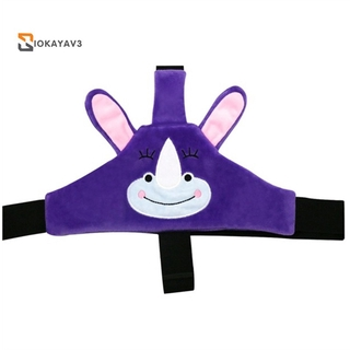 Baby Head Support for Stroller Seat Safety Neck Relief Offers Protection and Safety for Kids Toddlers Gift-Purple