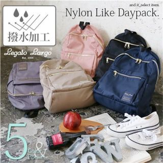 Review ของแท้100%  Legato Largo Nylon Like Daypack LH-E0722