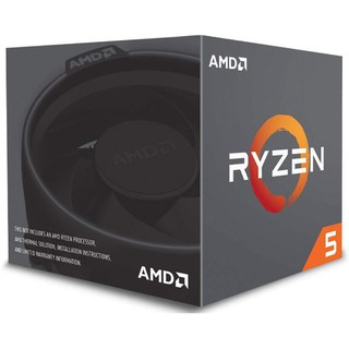 CPU (ซีพียู) AMD AM4 RYZEN5 2600 3.4 GHz- 3