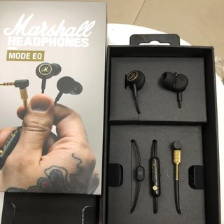 Review Marshall Mode EQ HiFi Wired Earphones 3.5mm Plug Earbuds In-Ear Headphones