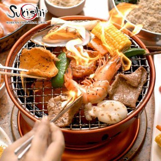 [E-Voucher] Sukishi  Korean Charcoal Grill มูลค่า 50