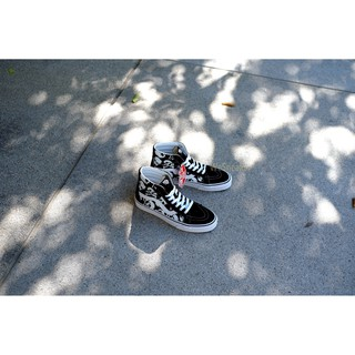 Image # 7 of Review 【VANS】SK8 (Hi) - Skulls/Black/True White การันตีของแท้ 100% by www.WeSneaker.com : VANS Authorized Online Dealer