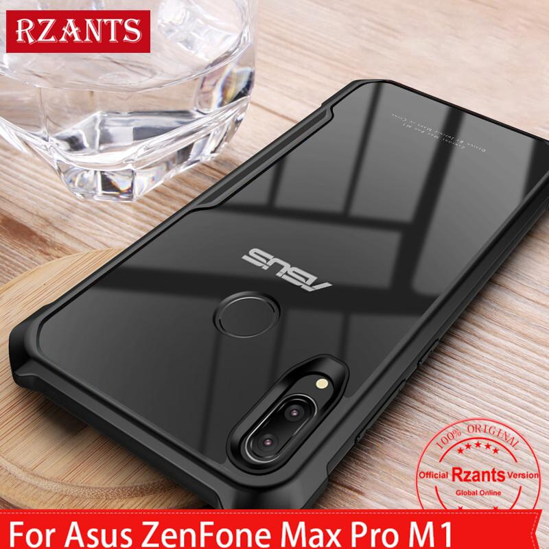 Review For Asus ZenFone Max Pro M1 / M2 เคส Case เคสโทรศัพท์r Transparent Back+Four Corner Shockproof Slim เคสมือถือ Cover
