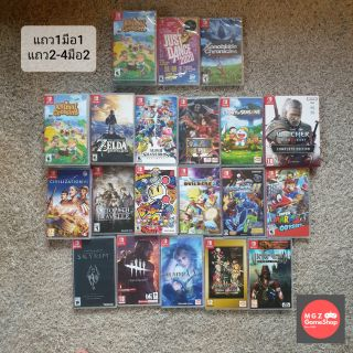 มือหนึ่ง มือสอง เกม Nintendo Switch - Animal Mario Pokemon Just Dance Xenoblade Witcher Zelda Luigi Smash Bros Overcook