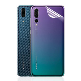 Review [Buy 1 Take 1]Huawei Nova 3i 2i Y9 2019 Nova 4 P20 Pro Mate 20 Pro Carbon Fiber Back Film
