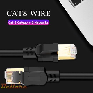 The best Bel❀Cat8 Ethernet Cable RJ45 8P8C 25/40Gbps Home Router Network Connection Cord