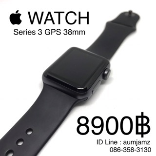 Review Apple Watch Series 3 GPS 38mm Black