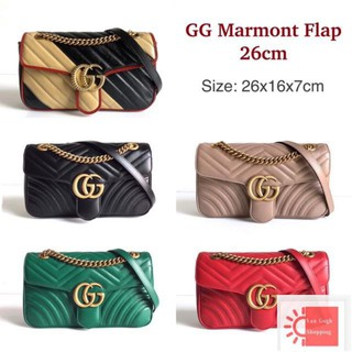 Review gucci marmont 26 cm bag