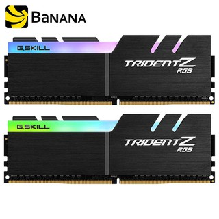 G.Skill Ram PC DDR4 16GB/3200Mhz. (8X2) RGB Trident Z by Banana IT