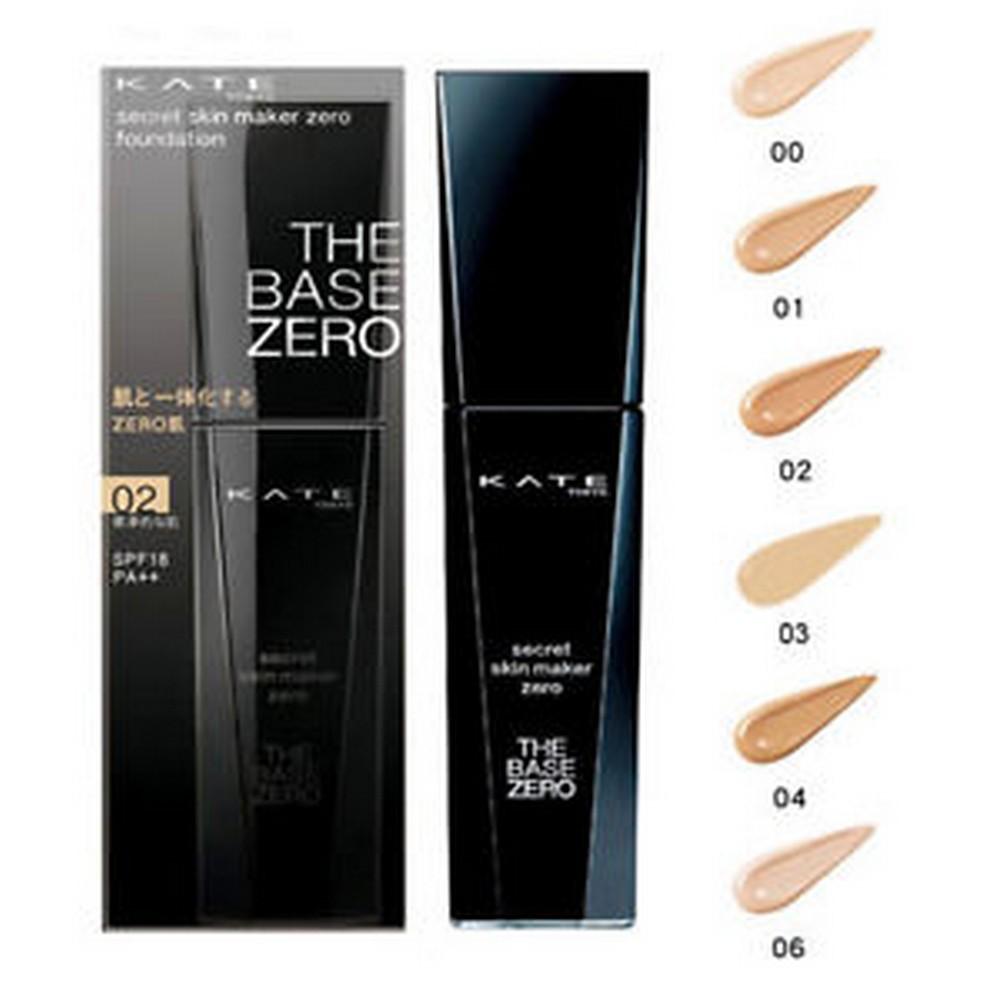 KATE Secret Skin Maker Zero (Liquid) Foundation (รองพื้นสูตรน้ำ)