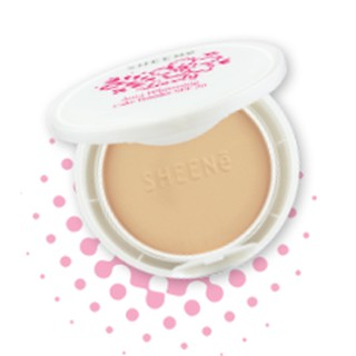 Review  SHEENe LOVELY AURA  CAKE WHITENING POWDER
