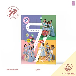[Mini Photobook+Music Card Type A] BNK48 - 77 ดินแดนแสนวิเศษ (Event : 15-16 Fe