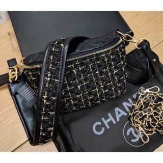 Review 👝 New in!! Chanel 2 in 1 shoulder bag premium for gift!!🍭